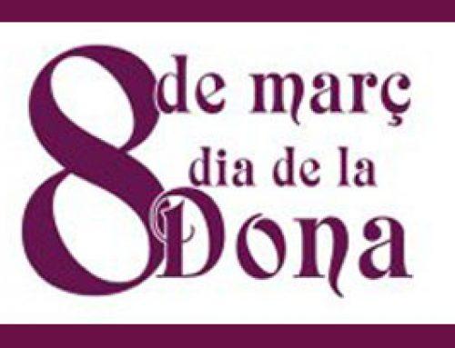 Programa Activitats 8 de març